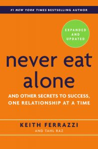 Book Cover - Never Eat Alone