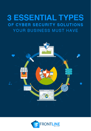 LD-Frontline-3-Essential-types-of-Cyber-Security-Solutions-eBook-Cover-1