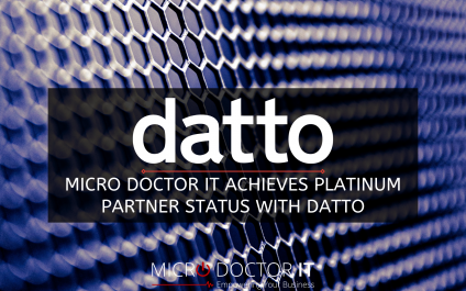 Micro Doctor IT Achieves Platinum Partner Status with Datto