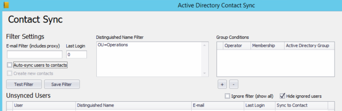 Directory Plugin in ConnectWise Automate, Connecwise Admin