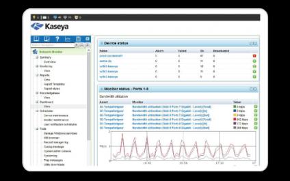 Kaseya Network Monitor: Benefits & Features