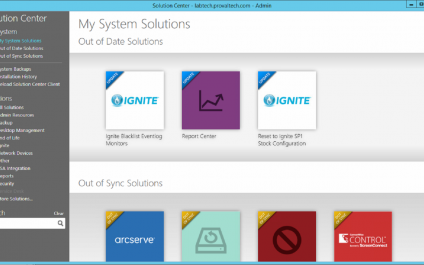 Using the ConnectWise Automate Solution Center