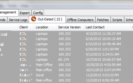 Deleting Out-Dated LabTech Agents