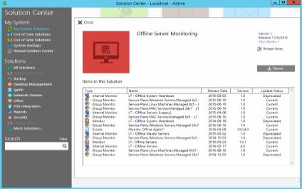 LabTech Offline Server Monitor