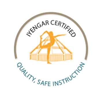 The Iyengar Yoga Certification Seal