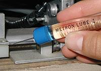 Metron Optics, Metron Marker, Metron Lube Electrical contact lubricant pen, oil pen