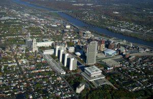 Buffalo NY Arial View